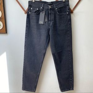 NWT Zara Man Button Fly Tapered Leg Jeans